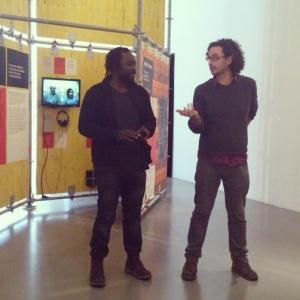 Presentació de l'actor Babou Cham