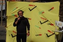 """El Pa d'Obertura de la Diagonal, el Pla del 22@ i el Pla Front Marítim no han millorat la situació del barri"""", Salvador Clarós -president de l'AVV Poblenou- als mitjans de comunicació que han assistit a l'acte."""